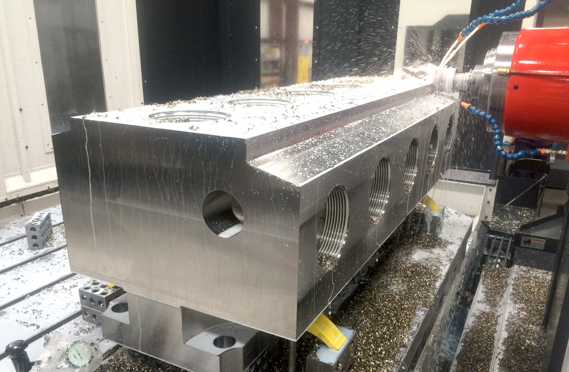 machining oil and gas equipment